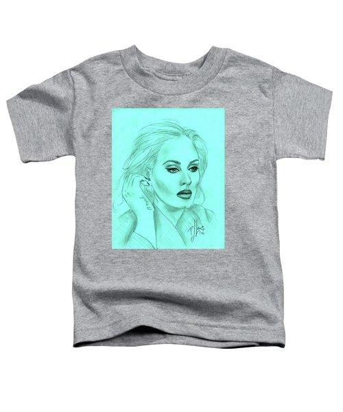 Adele Toddler T-Shirt by P J Lewis