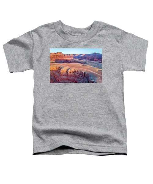 aerial view of Colorado RIver canyon Toddler T-Shirt