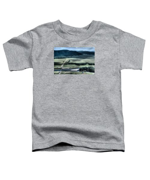 Aerial View Of Rolling Russian Hills Toddler T-Shirt
