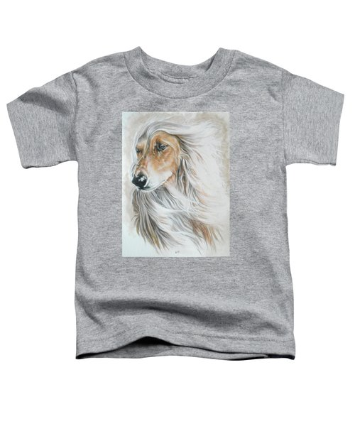 Afghan Hound Toddler T-Shirt