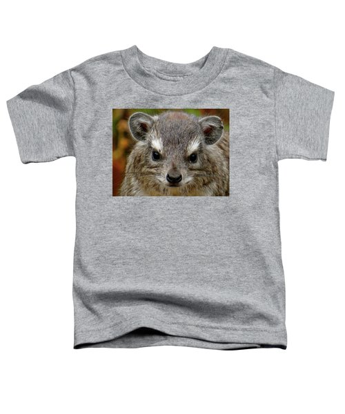 African Animals On Safari - A Child's View 6 Toddler T-Shirt