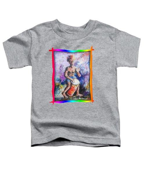 African Drummer Toddler T-Shirt