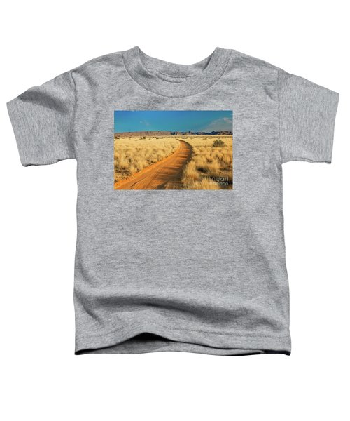 African Sand Road Toddler T-Shirt