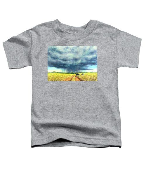 African Storm Toddler T-Shirt by Tilly Willis