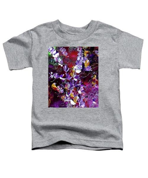 African Violet Awake #4 Toddler T-Shirt