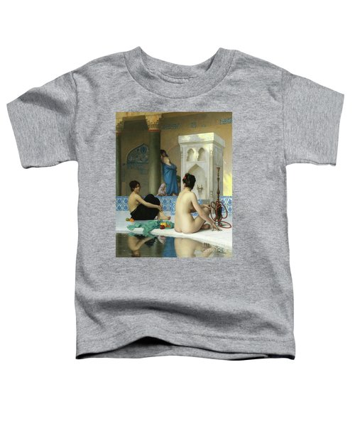 After The Bath, Jean Leon Gerome Toddler T-Shirt