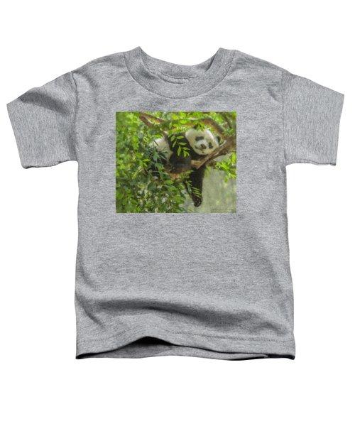 Afternoon Nap Baby Panda Toddler T-Shirt