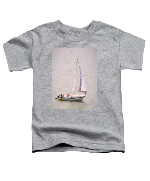 Toddler T-Shirt featuring the photograph Afternoon Sail by James BO Insogna