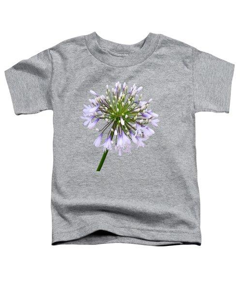 Agapanthus On White Toddler T-Shirt