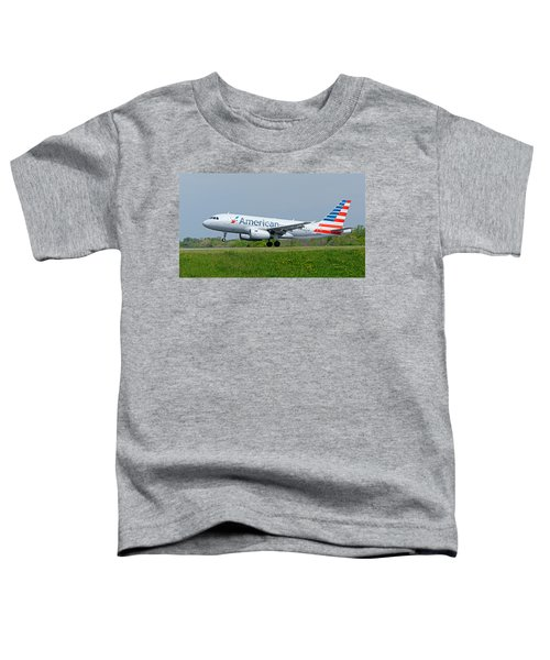 Airbus A319 Toddler T-Shirt