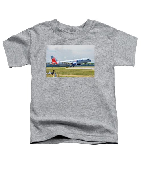 Airbus A320 Boston Strong Toddler T-Shirt