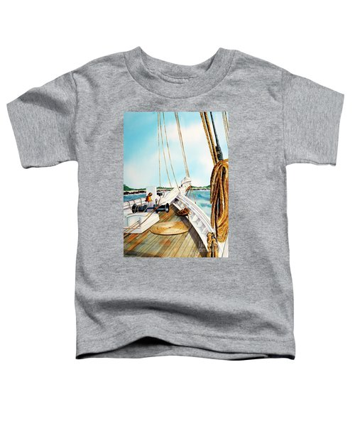 A.j. Meerwald-coming Home Toddler T-Shirt