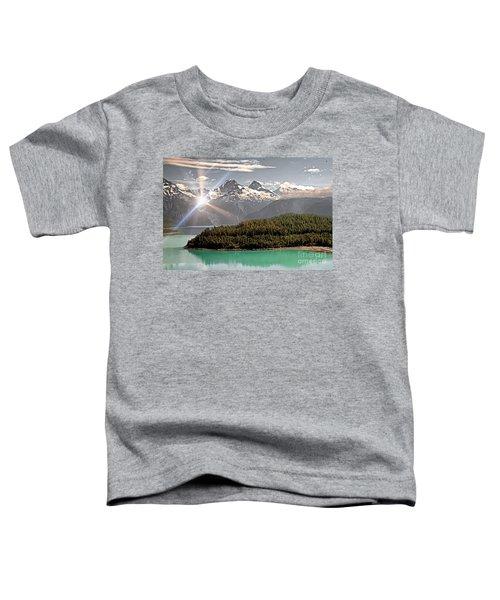 Alaskan Mountain Reflection Toddler T-Shirt