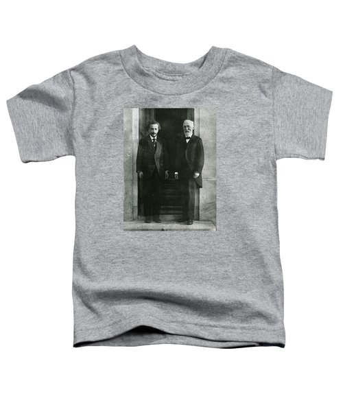 Albert Einstein And Hendrik Antoon Lorentz Toddler T-Shirt
