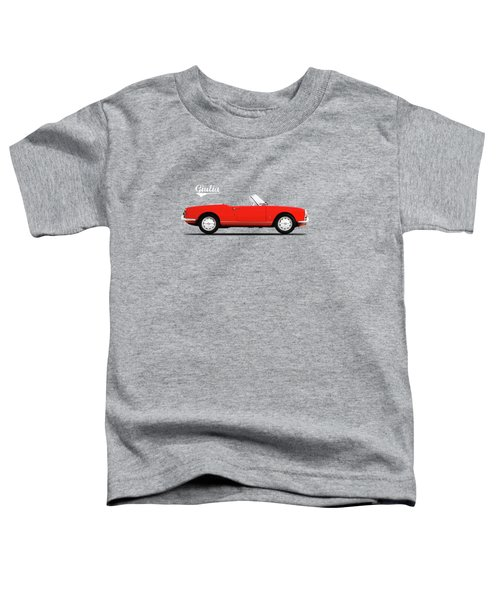 Alfa Giulia Spider 1964 Toddler T-Shirt by Mark Rogan