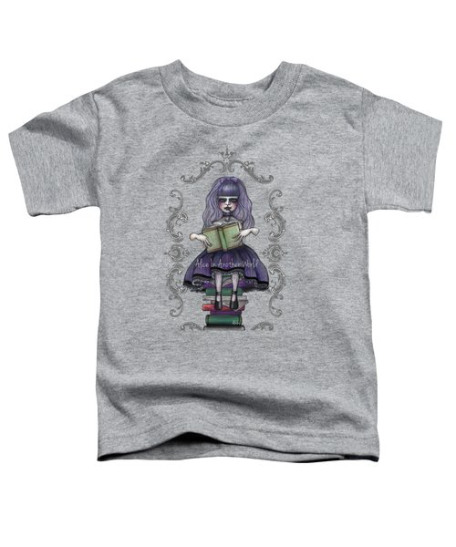 Alice In Another World 2 Toddler T-Shirt by Akiko Okabe