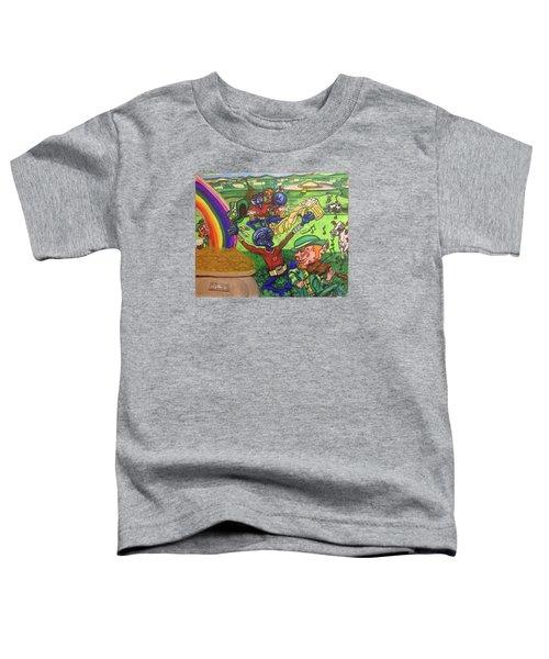 Alien Go Bragh Toddler T-Shirt