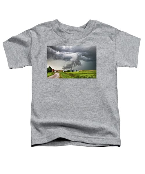 Alive Sky In Wyoming Toddler T-Shirt