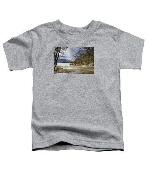 Toddler T-Shirt featuring the photograph All Seasons At Loch Lomond by Jeremy Lavender Photography