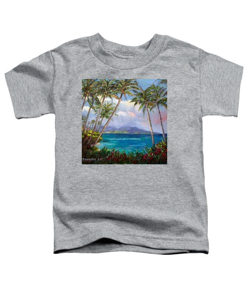 Aloha! Just Dreaming About #hawaii Toddler T-Shirt