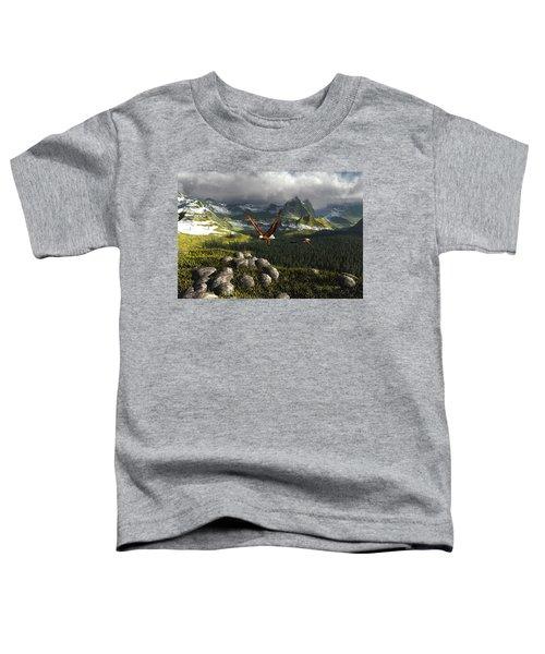 Along The Pinnacles Of Time Toddler T-Shirt