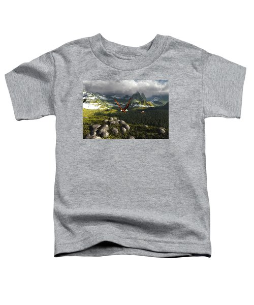 Along The Pinnacles Of Time Toddler T-Shirt