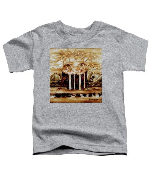 Alpha And Omega Toddler T-Shirt