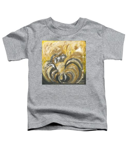 Amber Is The Color Of Your Energy Toddler T-Shirt