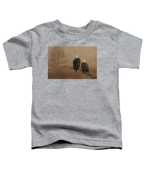 American Bald Eagle Family Toddler T-Shirt