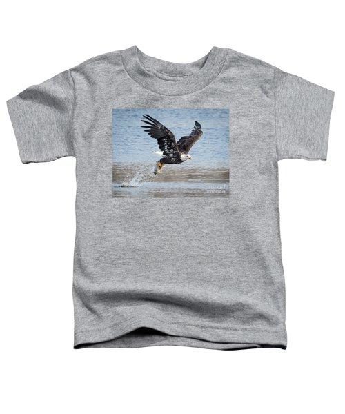 American Bald Eagle Taking Off Toddler T-Shirt