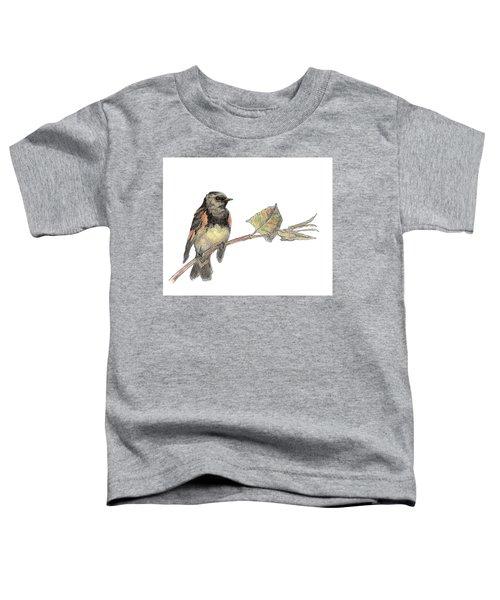 American Redstart Toddler T-Shirt