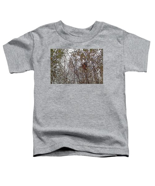 American Woodcock In October Foliage Toddler T-Shirt