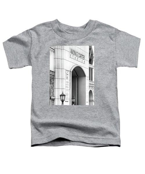 Amon Carter Stadium 110416 Bw Toddler T-Shirt