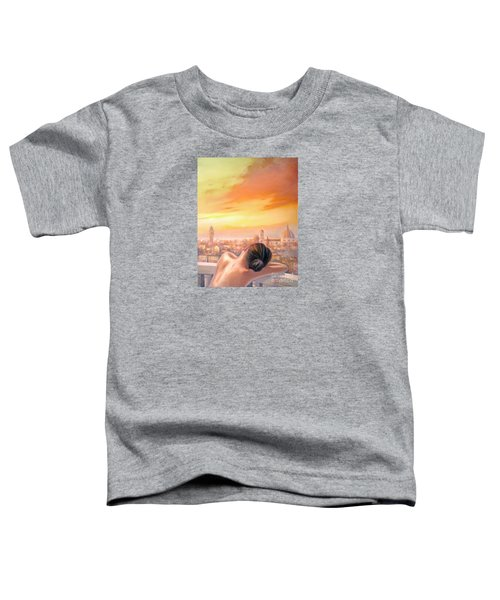 Amore Di Firenze Love Of Florence Toddler T-Shirt