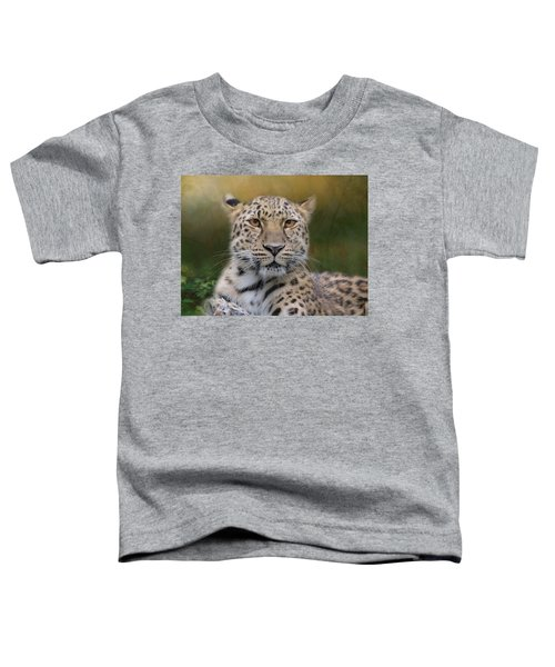Amur Leopard Toddler T-Shirt
