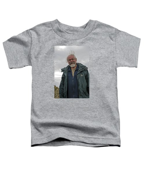 Toddler T-Shirt featuring the photograph An Englishman In Castlerigg, Uk by Dubi Roman