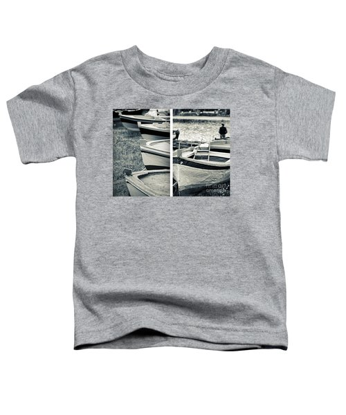 An Old Man's Boats Toddler T-Shirt by Silvia Ganora
