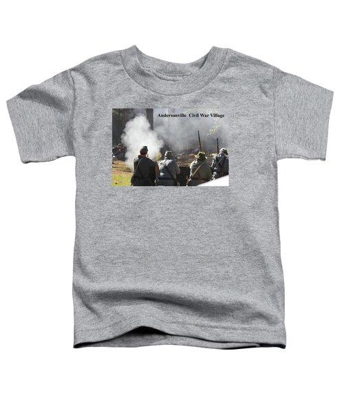 Andersonville Civil War Village Toddler T-Shirt