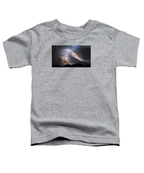 Andromeda-galaxy Toddler T-Shirt