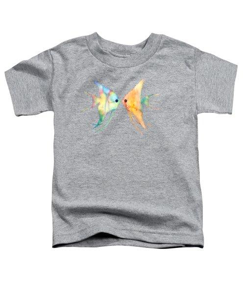 Angelfish Kissing Toddler T-Shirt
