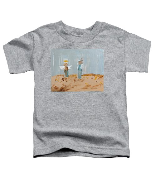 Angels Taking Care Of E Toddler T-Shirt