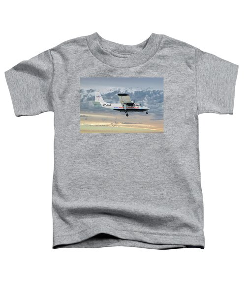 Anguilla Air Services Britten-norman Bn-2a-26 Islander 114 Toddler T-Shirt