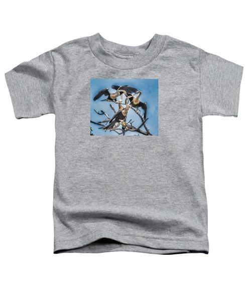 Anhinga Feeding Time Toddler T-Shirt