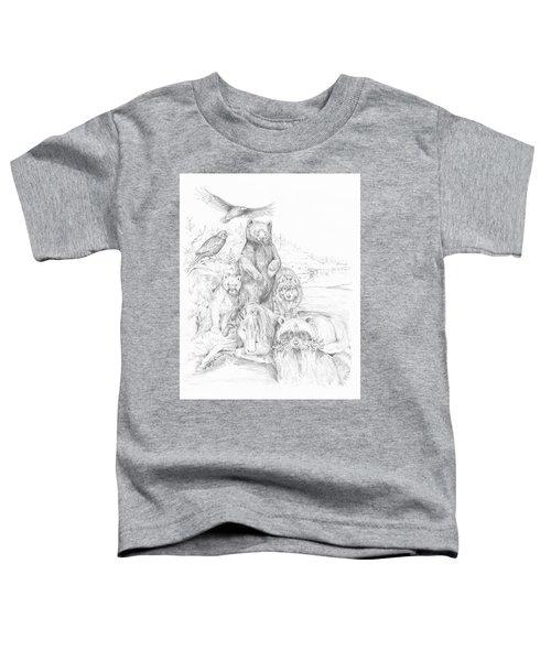 Animal Wisdom Toddler T-Shirt