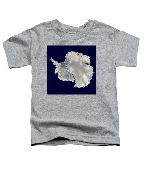 Antarctica From Blue Marble Toddler T-Shirt