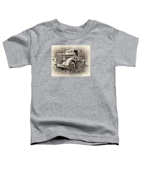 Antique 1947 Mack Truck Toddler T-Shirt