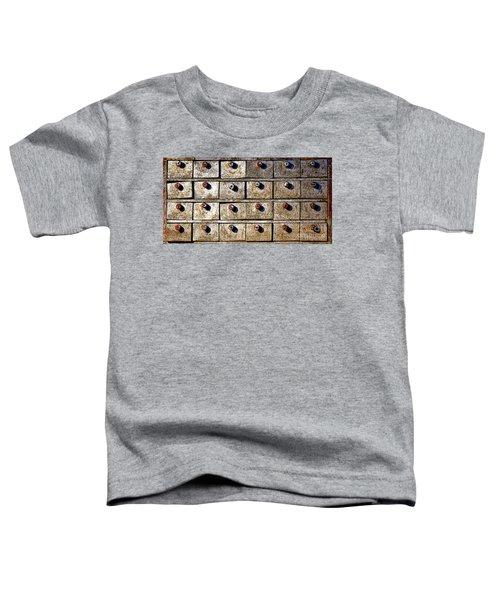 Antique Drawer Cabinet Toddler T-Shirt