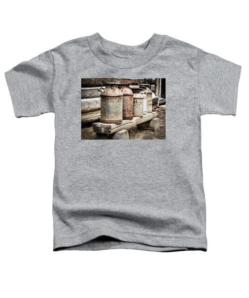 Antique Milk Cans Toddler T-Shirt