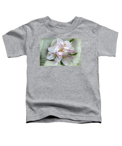Apple Blossoms From My Hepburn Garden Toddler T-Shirt