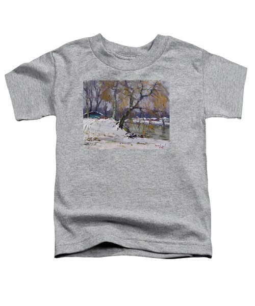 April Snow Storm Toddler T-Shirt